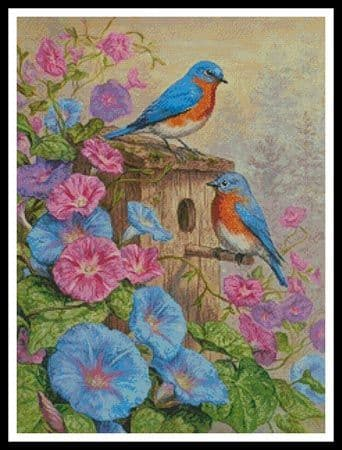 A Summer's Dream  by Artecy printed cross stitch chart